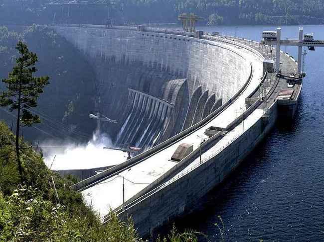 Советские гидроэлектростанции