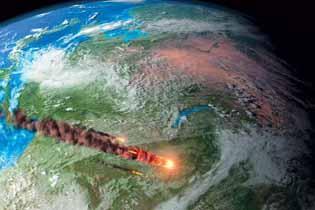 Падения метеоритов и астероидов