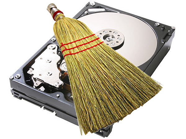 Как очистить диск C