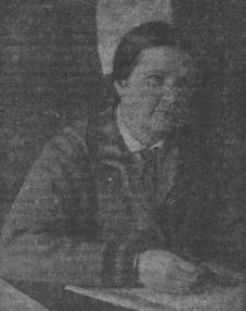 Первая женщина—инженер-конструктор холодильного дела А. Волкова