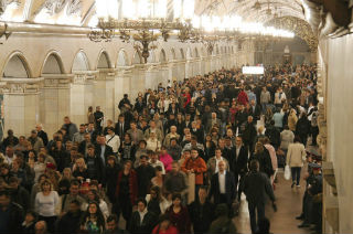 Пассажироперевозки Московского метро