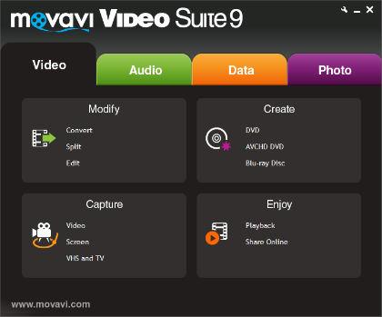 Movavi Video Suite 9