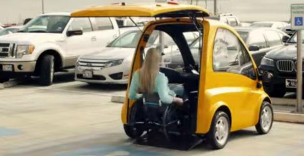 Автомобиль Kenguru