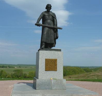 Памятник павшим в Куликовской битве