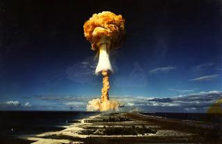 Испытания ядерного боезаряда