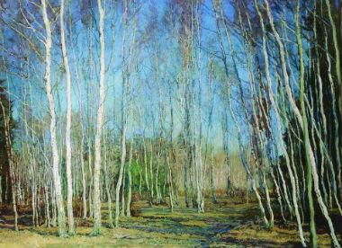 В. Бакшеева «Голубая весна»