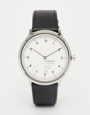 Часы мужские с кожаным ремешком