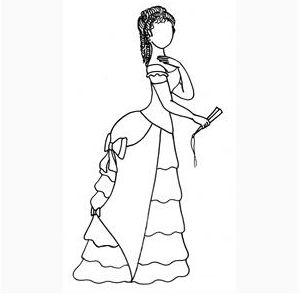 Формы модерна в женском костюме конца XIX века