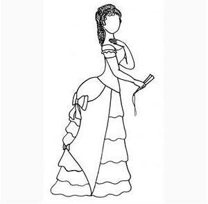 Характер женского костюма